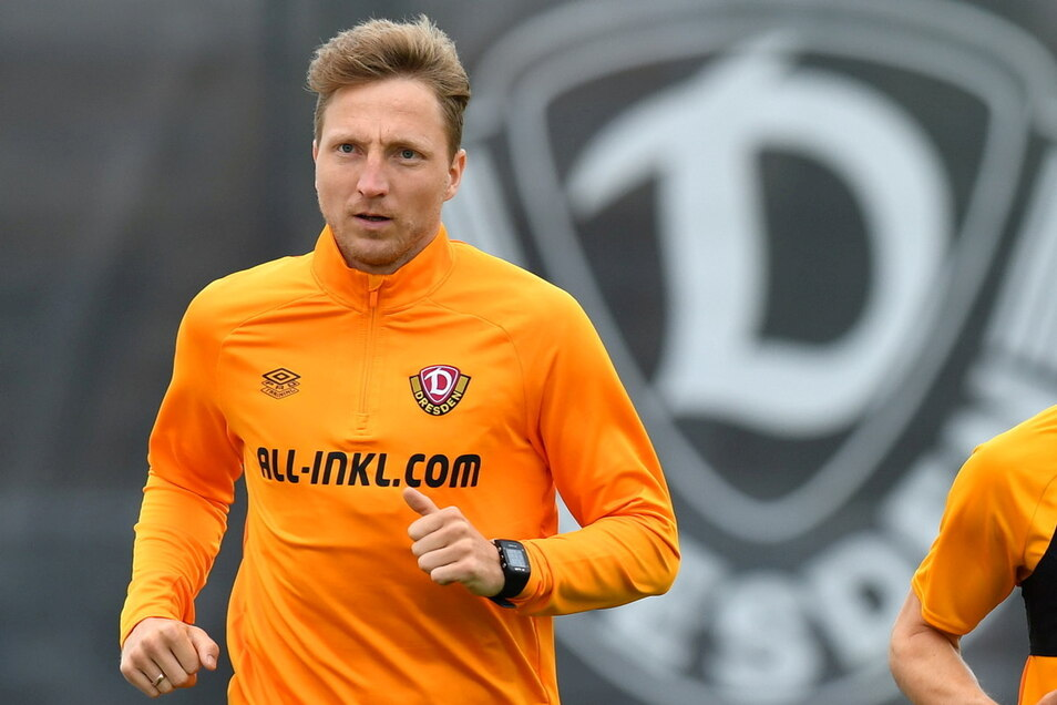 Mal wieder trainiert Marco Hartmann abseits der Mannschaft. In den nächsten Wochen will er sich für einen neuen Vertrag empfehlen.