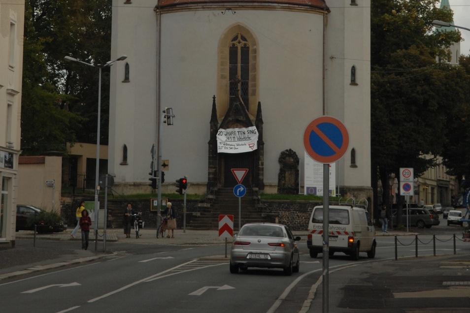 Hat sich 2017 zum Unfallschwerpunkt entwickelt: Die Kreuzung Grüner Ring/Äußere Weberstraße.