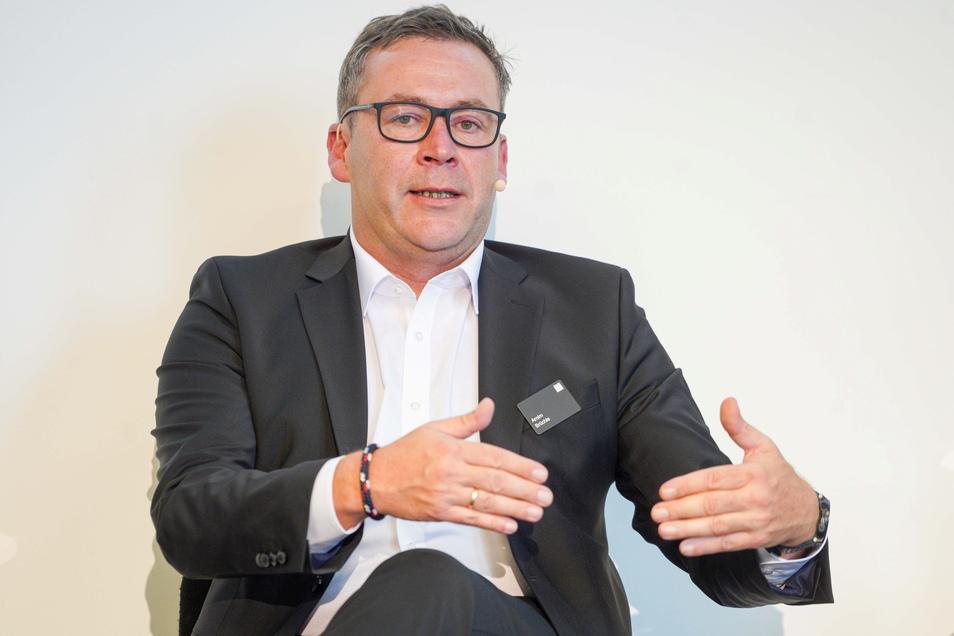 """Arnim Brüchle, Werkleiter bei Trumpf in Neukirch: """"Wir wollen hocheffizient produzieren, was uns mit der Neuentwicklung gelingt."""""""