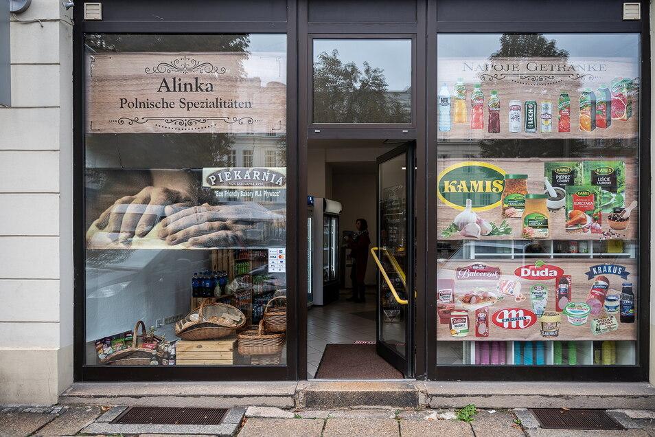 """Bei """"Alinka"""" auf der Elisabethstraße (Nähe Dicker Turm) gibt es frische Lebensmittel aus Polen."""