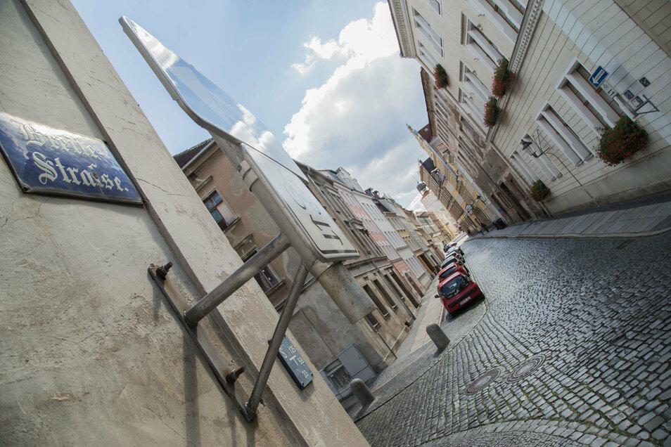 Die Breite Straße in der Görlitzer Altstadt