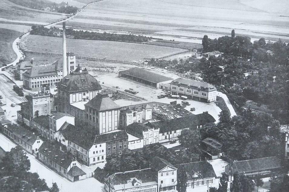 Gebraut: die Sternburg-Brauerei 1930.