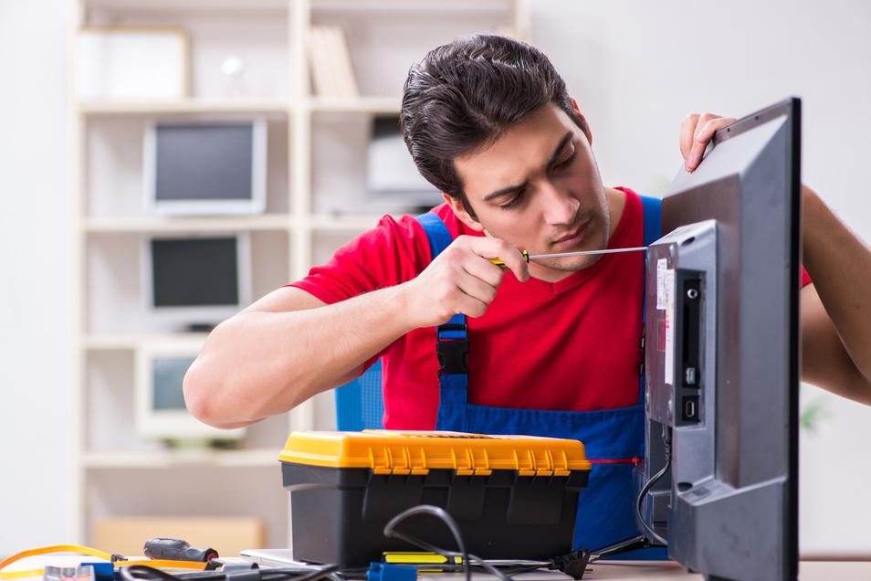 Schnell und kompetent: Hilfe für defekte Geräte