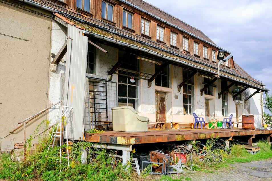 Unterm Dach hinter den Gauben kann sich Katrin Beck Wohnungen vorstellen.