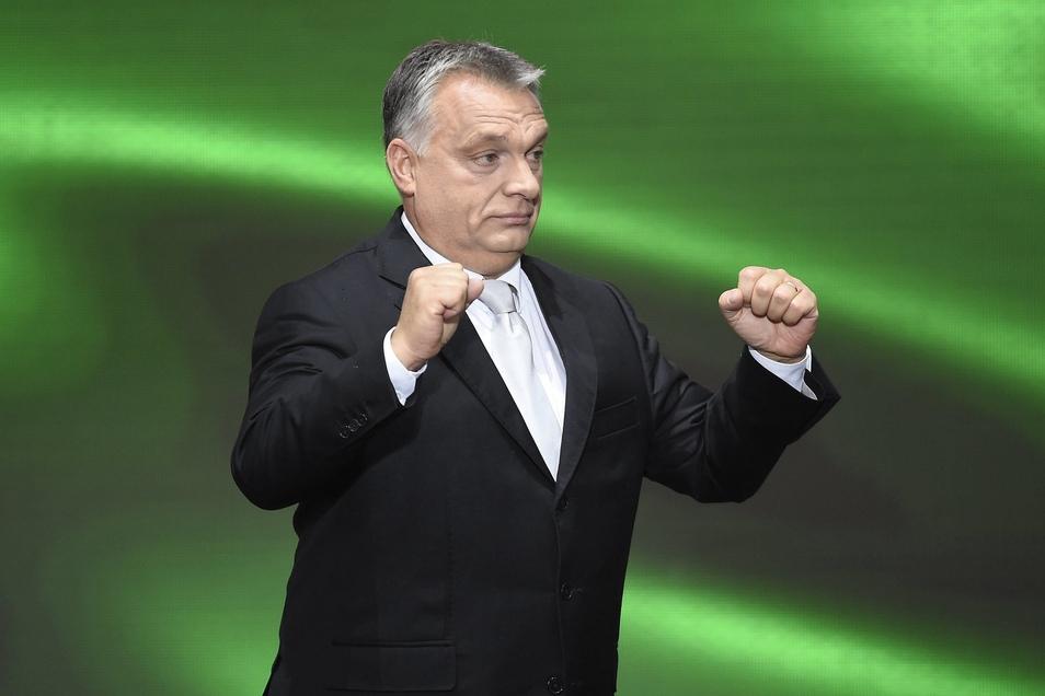 Der ungarische Ministerpräsident Viktor Orban schürt die Verurteile gegenüber Flüchtlingen in seinem Land.