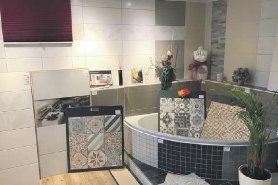 Die Ausstellung in der Eckartsberger Straße 88b in Zittau bietet Inspiration für die Gestaltung von Räumen jeder Art.