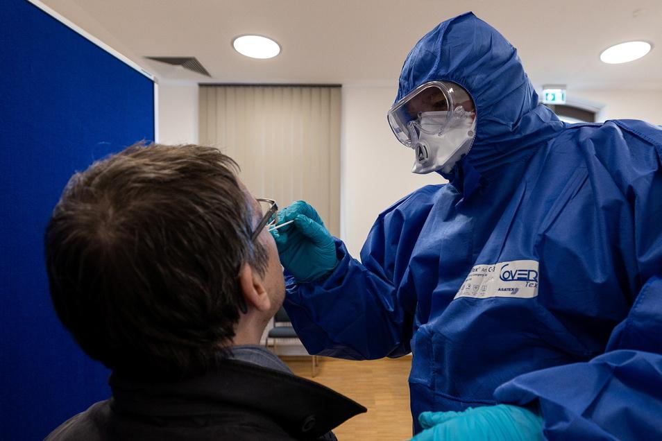 Vor wenigen Tagen wurde in Freital-Potschappel ein Corona-Testzentrum eröffnet. Ab Dienstag gibt es auch in Wilsdruff eine solche Einrichtung.
