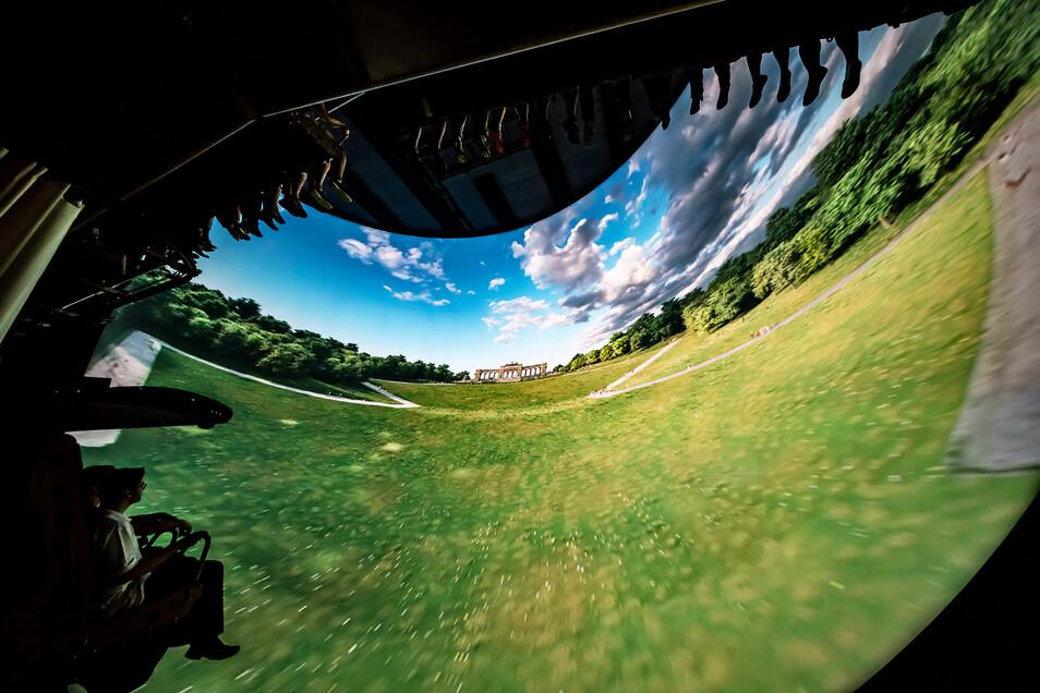 Im Voletarium wird der Traum vom Fliegen wahr – bei einem rasanten Flug zu den schönsten Plätzen Europas.
