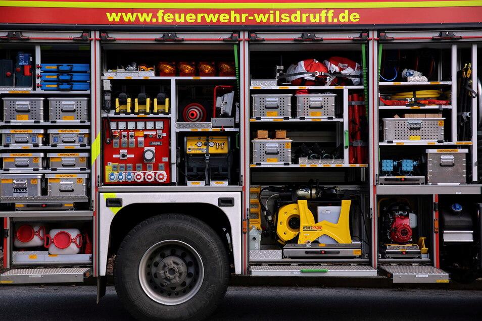 Wenn es wieder kracht, ist die Feuerwehr mit einem neuen Rüstwagen für alle Eventualitäten ausgestattet.