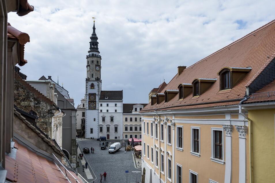 Im Inneren soll das Görlitzer Rathaus moderner werden. Aber ein Digitalisierungsantrag ist jetzt erstmal abgelehnt.