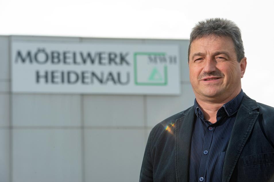 Vom Lehrling zum Werkleiter und durch mehrere Krisen: Maik Hippel hat im September sein 40-jähriges Firmenjubiläum.