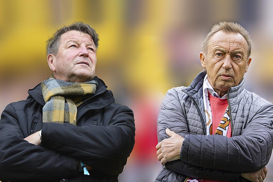 Hans-Jürgen Dörner (li.) und Joachim Streich.