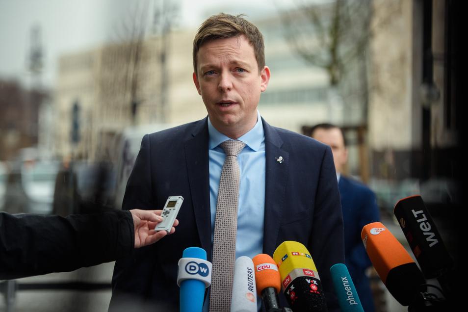 Tobias Hans (CDU) ist Ministerpräsident des Saarlandes.