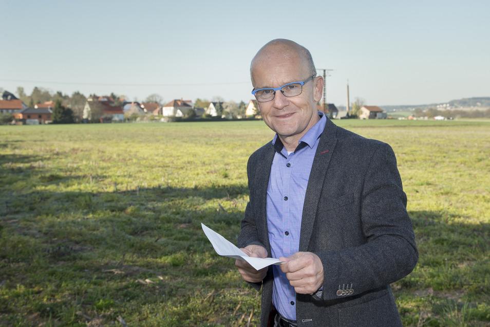 Andreas Clausnitzer leitet den Trinkwasserverband  und  ist für die Großinvestition zuständig.