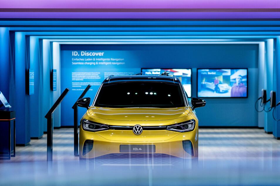 Das neue Volkswagen-Elektroauto ID.4