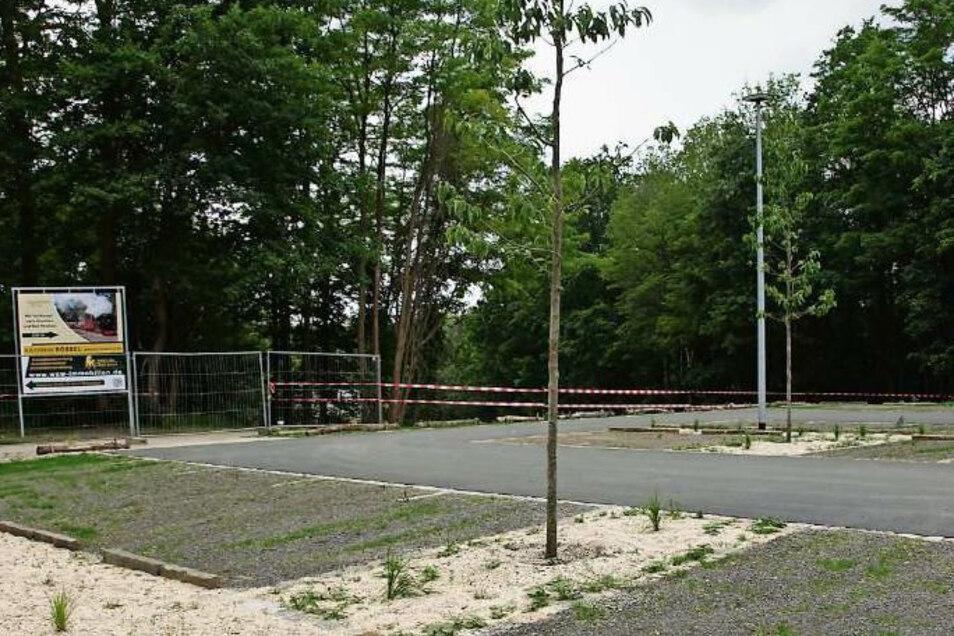 Der Parkplatz am Turnerheim ist seit einigen Tagen fertig und nutzbar.