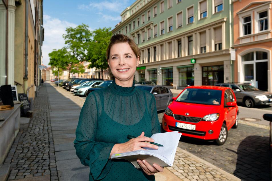 Bautzens Citymanagerin Yvonne Tatzel, ihre Stelle läuft Ende Mai aus.