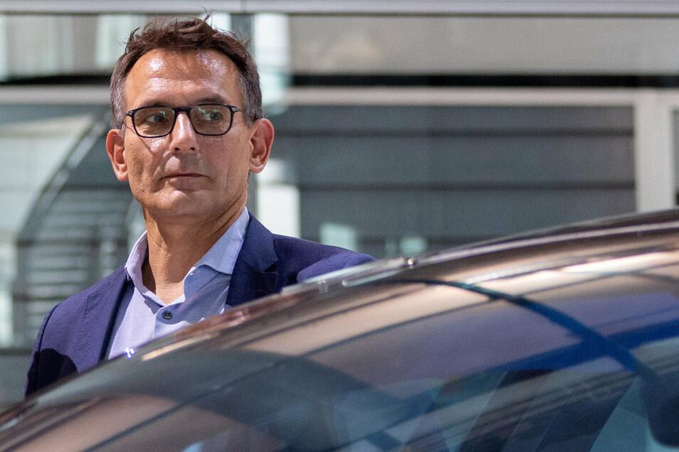 Sein Nachfolger wird gesucht: Michael Born, seit Donnerstag nicht mehr Finanzgeschäftsführer von Dynamo Dresden.