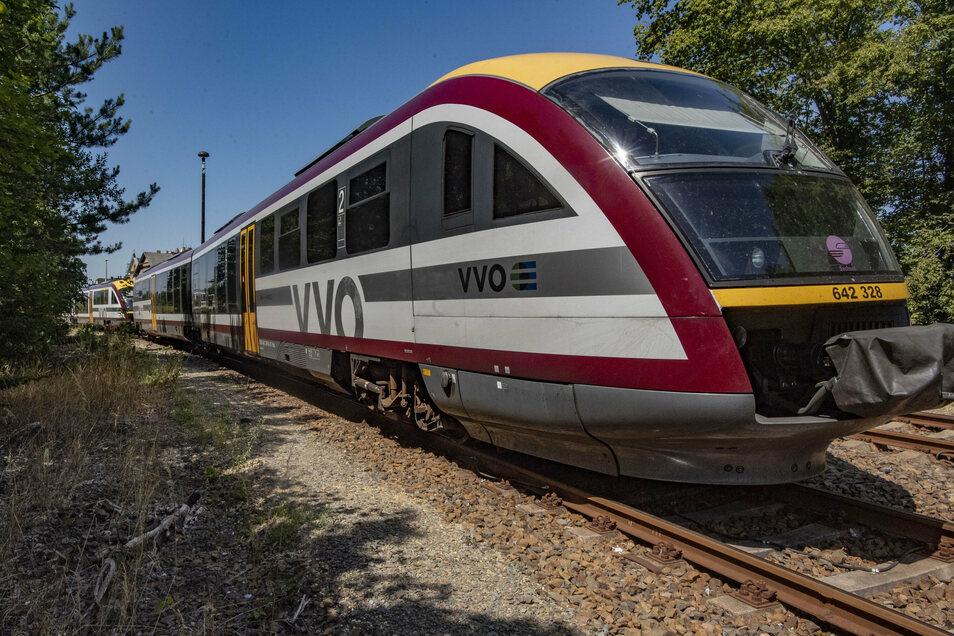 Desiro-Triebwagen: Vorübergehend wieder einer weniger.