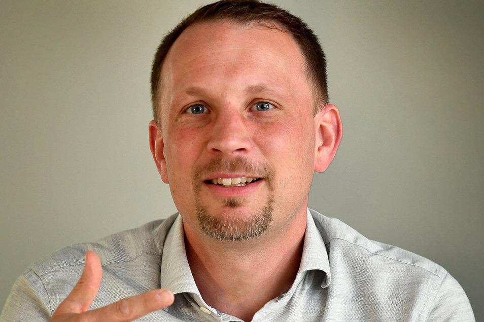 Thomas Kolbe ist Vorsitzender der Regionalversammlung Mittelsachsen der IHK Chemnitz und Geschäftsführer in Döbeln.