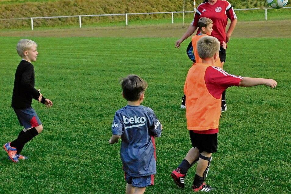 Die letzten Trainingseinheiten vor dem großen Turnier waren für die Kicker, ihre Übungsleiterinnen und Familien gleichermaßen spannend und herausfordernd. Schließlich will man spielerisch überzeugen.