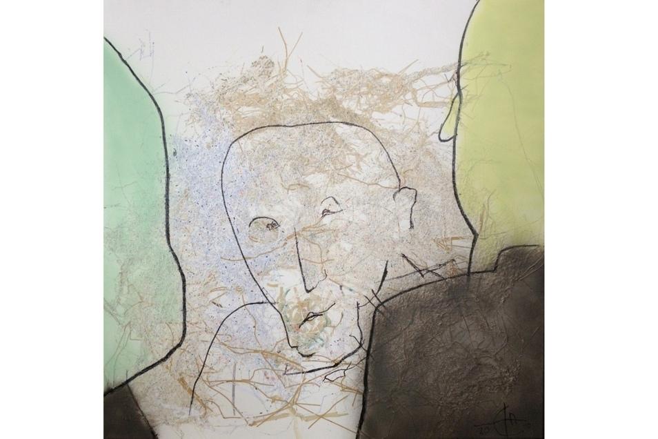 """Christoph Hampel, """"Wo ist die Akte, Kurt?"""", 2019."""