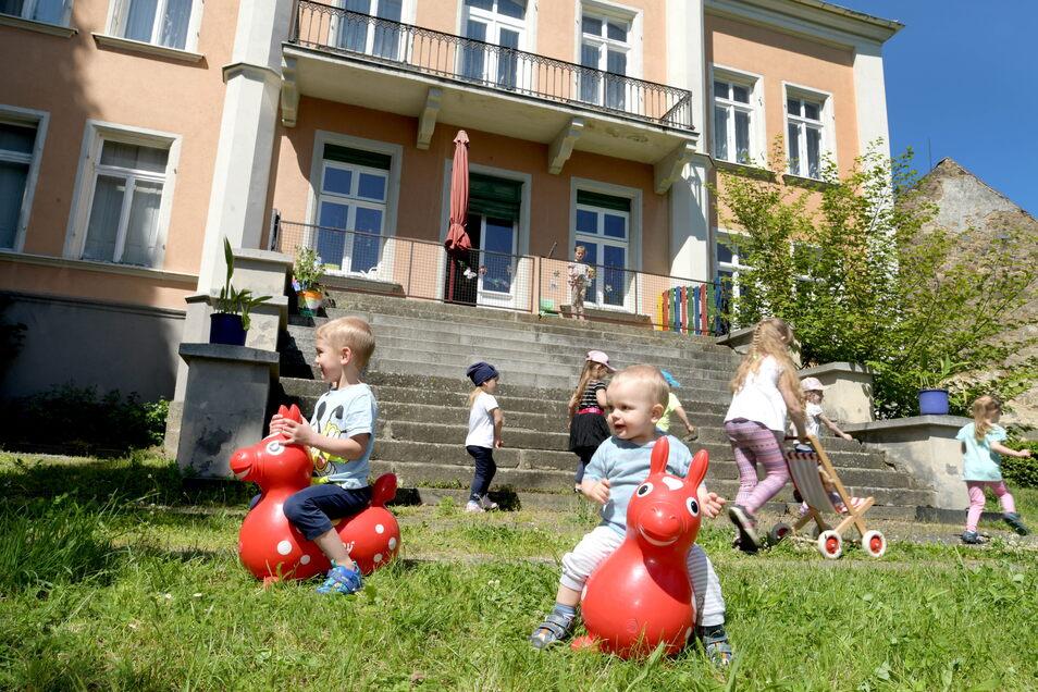 30 Mädchen und Jungen werden im Ottenhainer Kinderschloss Tausendfuß betreut. Aber wie lange noch?