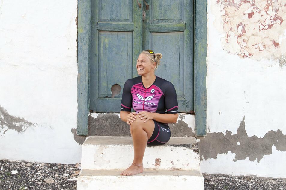 Im Dezember darf Christiane Reppe wieder auf ihre Lieblingsinsel Lanzarote. Natürlich vorwiegend zum Training, wenn alles nach Plan läuft.
