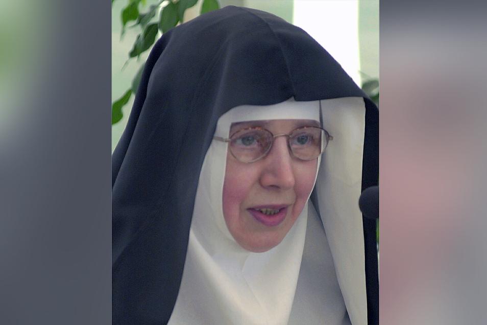 Regina Wollmann war bis 2016 Äbtissin des Klosters St. Marienthal.