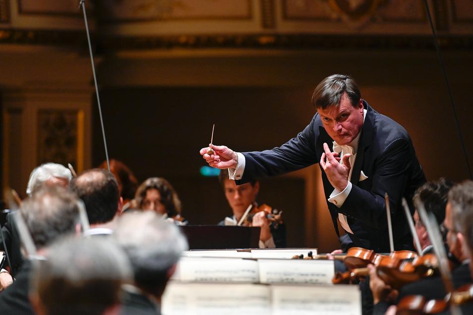 """Will im Mai das Meisterwerk """"Capriccio"""" von Richard Strauss in der Semperoper aufführen: Staatskapellen-Chefdirigent Christian Thielemann."""