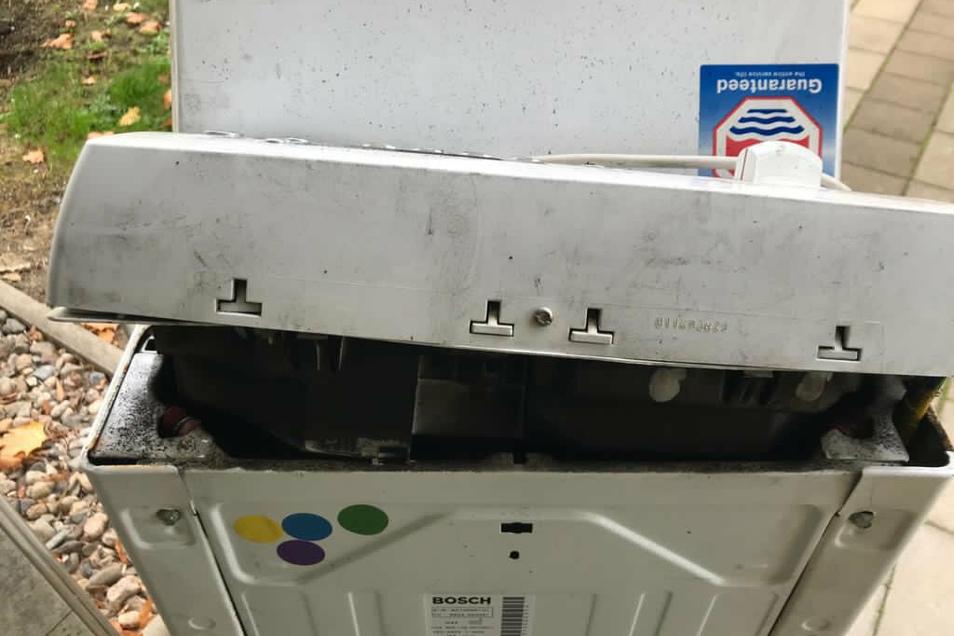 Ein Schmorbrand in einer Waschmaschine hat am Montag einen Feuerwehreinsatz ausgelöst.