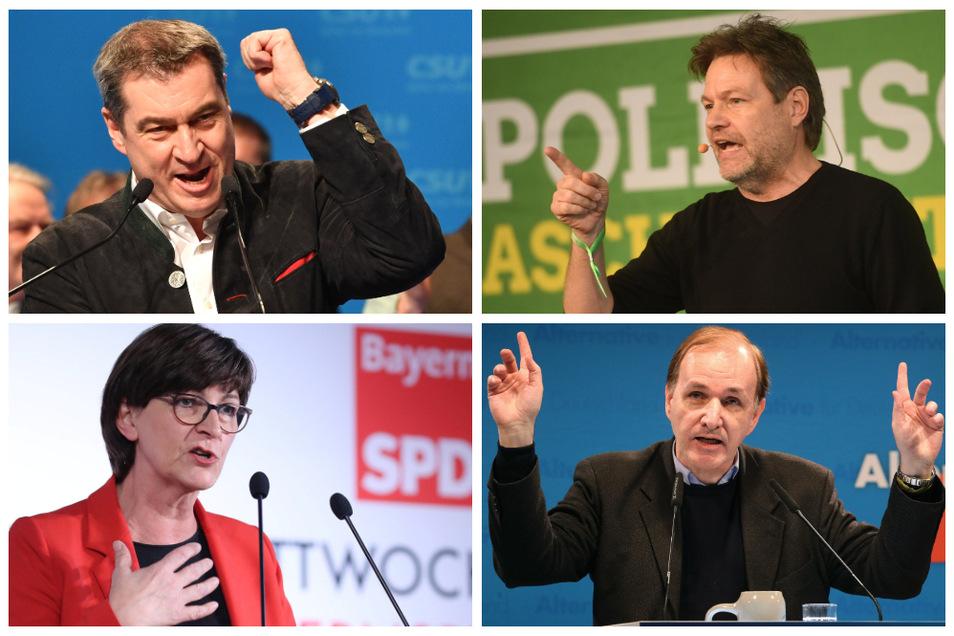 Die Reden zum politischen Aschermittwoch stehen im Schatten des Anschlags von Hanau.