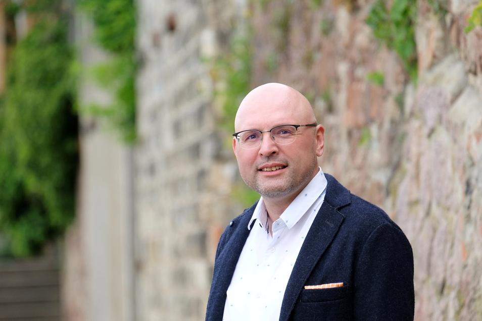 André Langerfeld (49) kämpft im Kreis Meißen für die Freien Wähler um ein Bundestagsmandat und setzt auf einen frühen Wahlkampfstart.