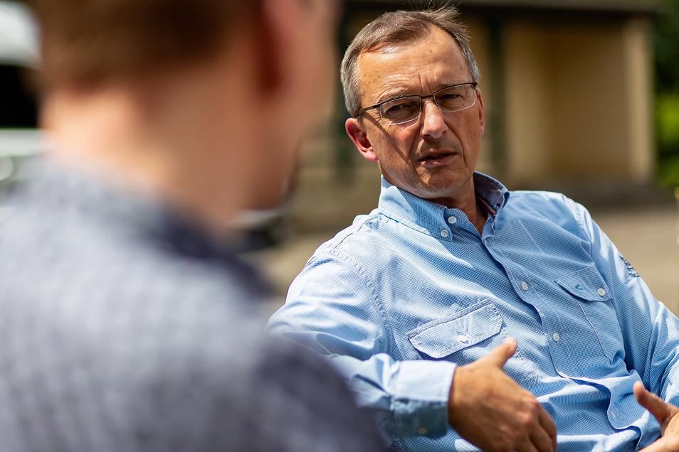 Trägt ab 1. Juli Verantwortung für rund 1.500 Mitglieder im größten Verein des Landkreises: Jörg Schneider, bisher Vorsitzender bei Fusionspartner Hainsberger SV.
