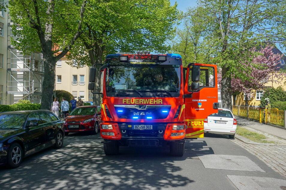 Am Dienstagnachmittag rückte die Feuer zu einem Einsatz in die Paulistraße aus.