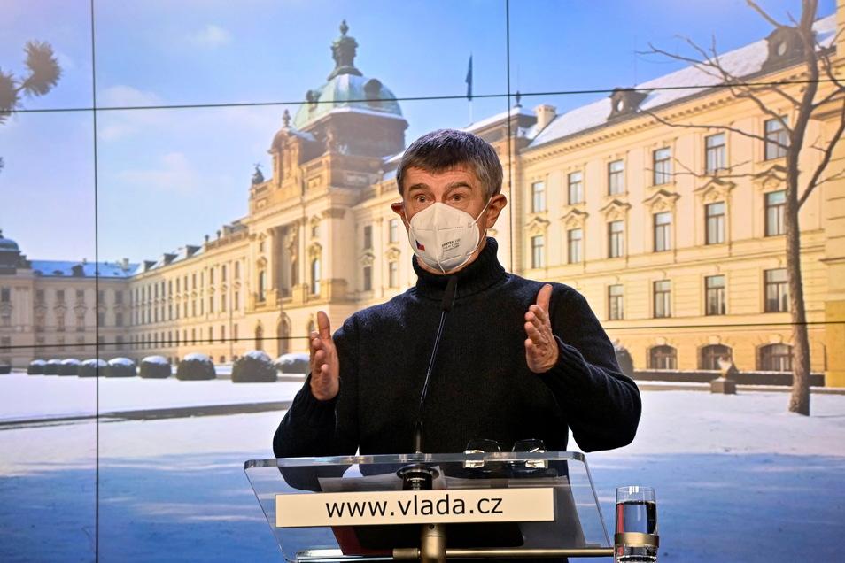 Andrej Babis ist Geschäftsmann und Ministerpräsident von Tschechien. Die EVP-Fraktion im Europa-Parlament vermutet einen Interessenkonflikt.