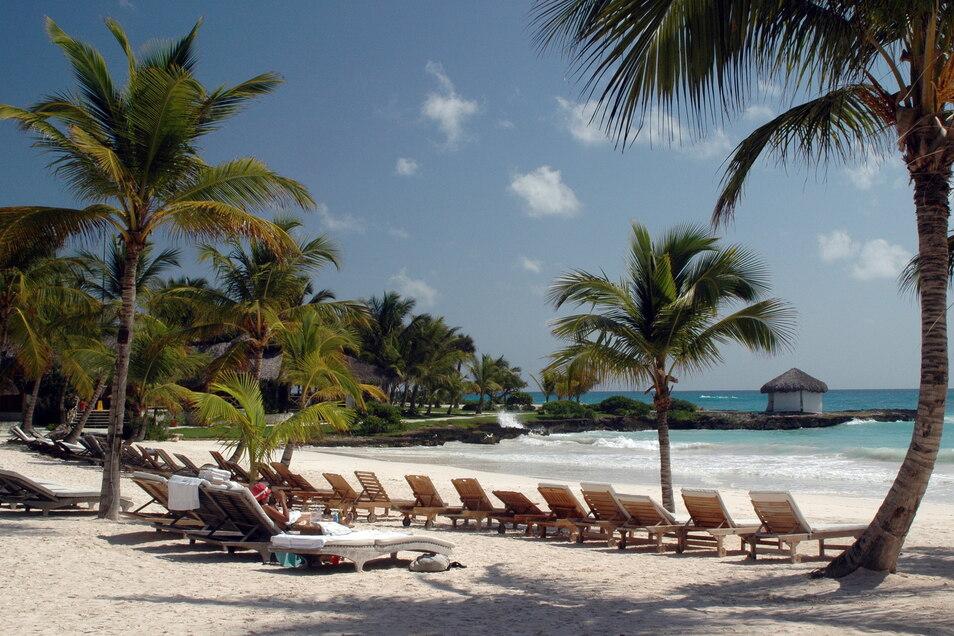 Die Dominikanische Republik – hier ein Strand in Punta Cana – empfängt wieder Touristen.
