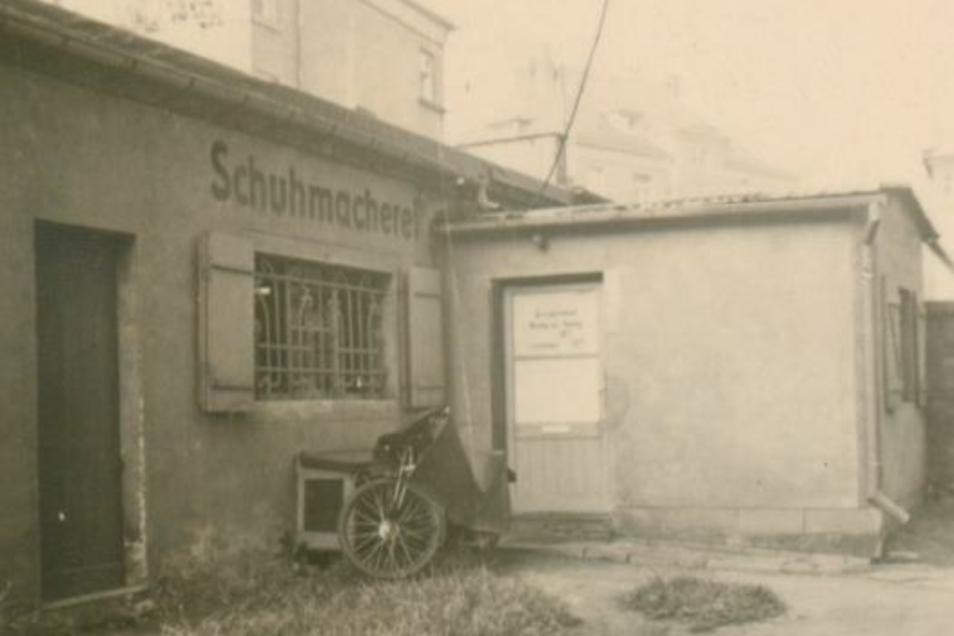 Hier fing alles an: In einem Hinterhof an der Grillenburger Straße in Dresden.