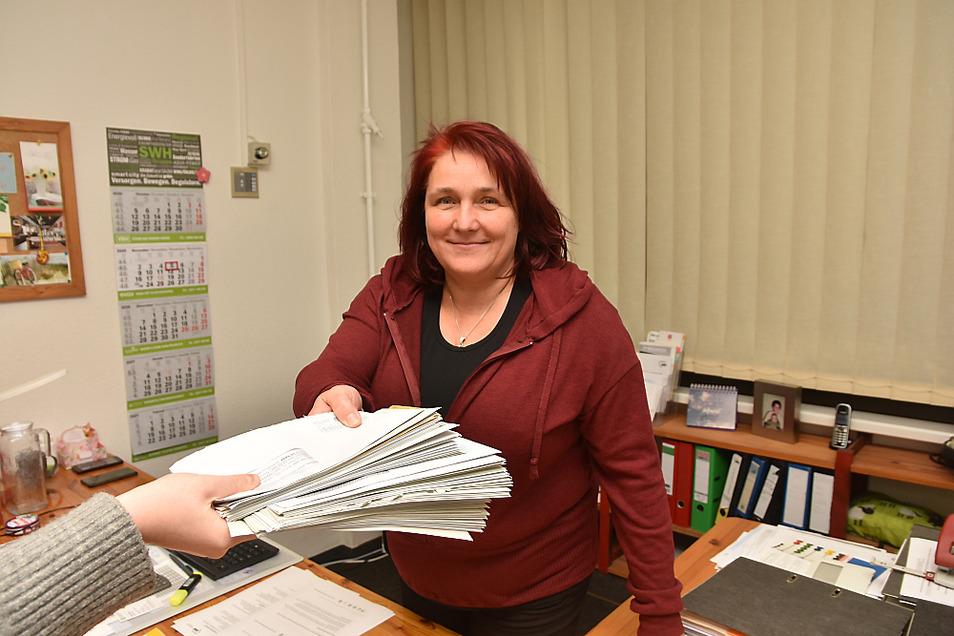 Jeannine Giebner ist Schuldner- und Insolvenzberaterin bei der vom Awo Kreisverband Lausitz e.V. betriebenen Schuldnerberatung im Einsteinhaus Hoyerswerda.