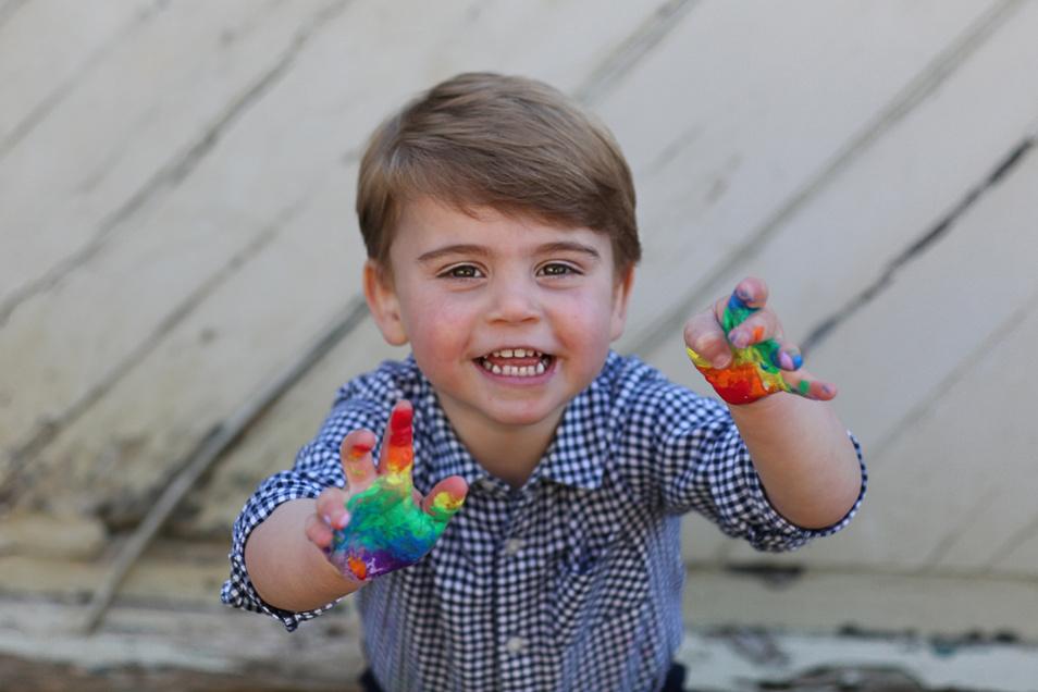 Prinz Louis feiert am 23.04.2020 seinen zweiten Geburtstag.