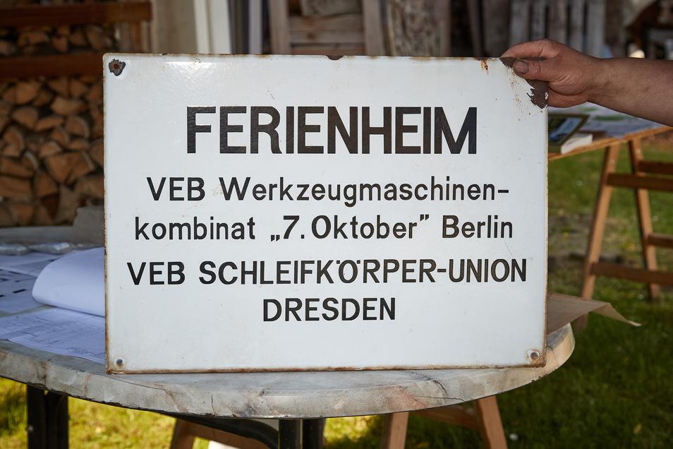 Bewahrtes Relikt: Die Gohrischer Villa der Leonhardis diente zu DDR-Zeiten als Ferienheim der Werktätigen.