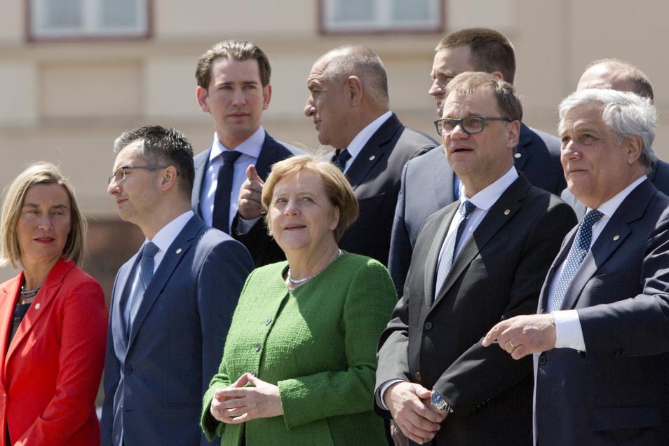 Beim informellen Gipfel der Staats- und Regierungschefs der Europäischen Union stehen vor allem Debatten über die Zukunft Europas im Zentrum.