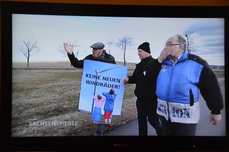 Über Bernd Grahl und seine Mitstreiter berichtete unlängst auch der MDR-Sachsenspiegel.