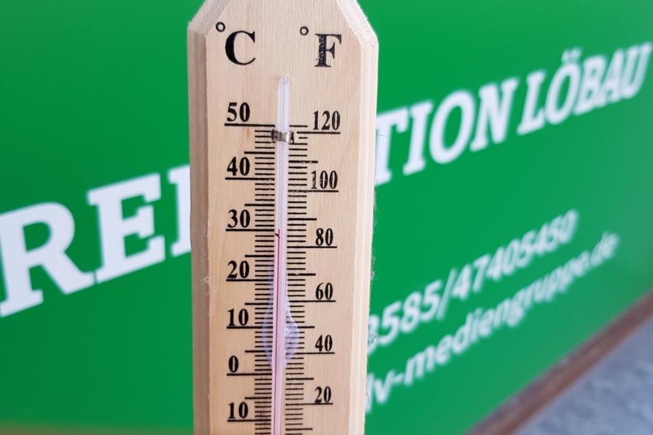 Das Thermometer stieg am Mittwoch auf einen historischen Juni-Höchstwert.