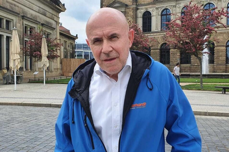 Uwe Lorenz, Geschäftsführer beim Dresdner Reiseveranstalter Eberhardt Travel.