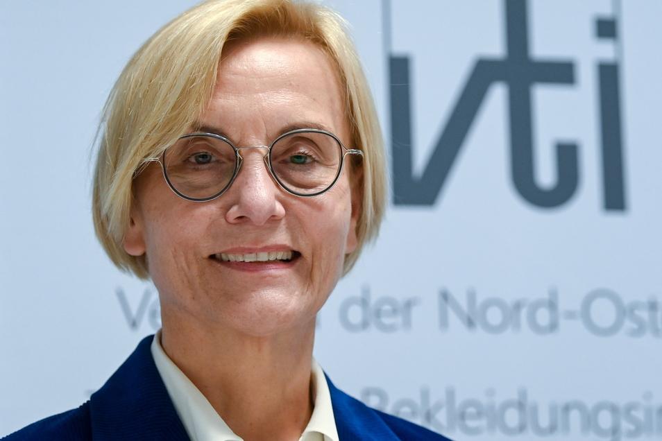 Ingeborg Neumann, Präsidentin des Gesamtverbands der deutschen Textil- und Modeindustrie e.V.
