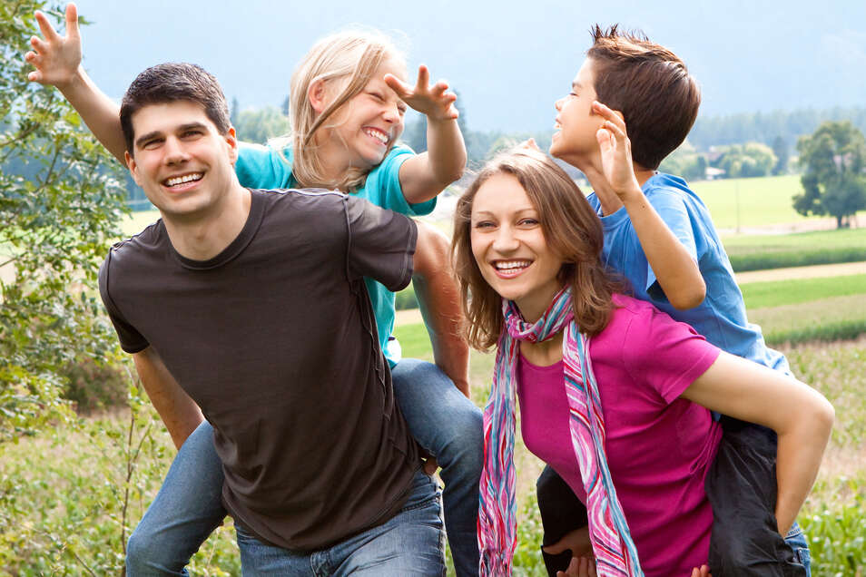 Spaß können Familien auch in der näheren Umgebung haben.