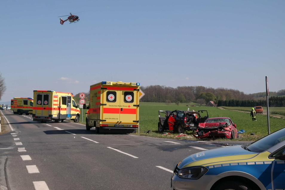 An der Kreuzung an den Kälbersträuchern kommt es immer wieder zu schweren Unfällen.
