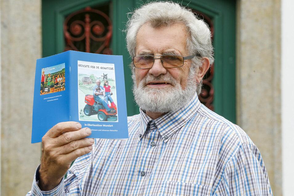 Johannes Kletschka schreibt nicht nur Mundart-Bücher, er führt Besucher jetzt auch durchs Zittauer Museum.