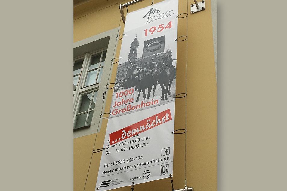 Die Sonderausstellung zur Tausendjahrfeier läuft derzeit im Museum Alte Lateinschule. Besucher müssen sich vorher anmelden.